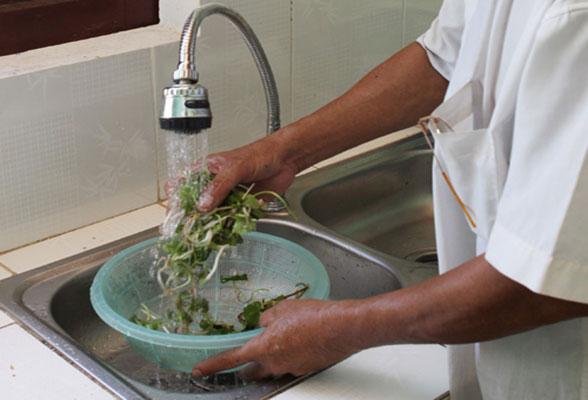 sử dụng nước sạch tại hà nội
